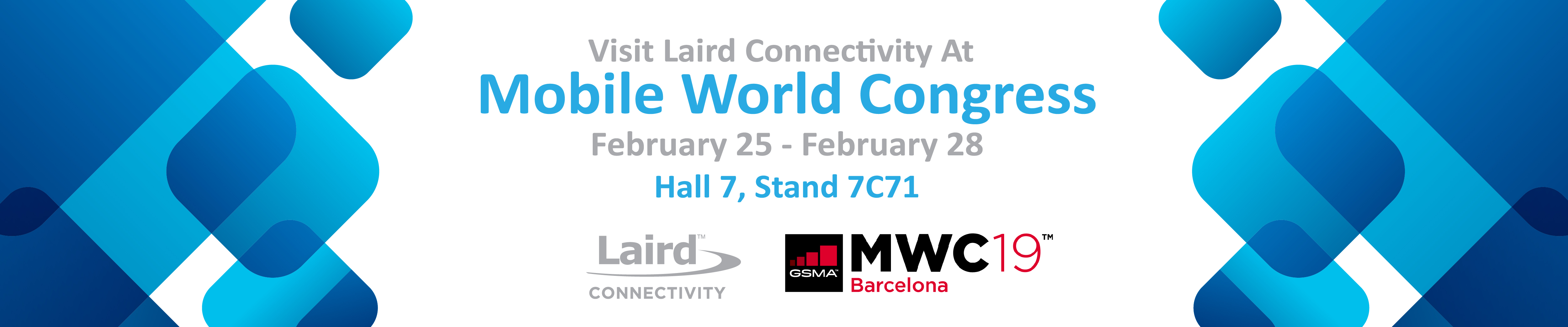 Laird Connectivity at Mobile World Congress 2019