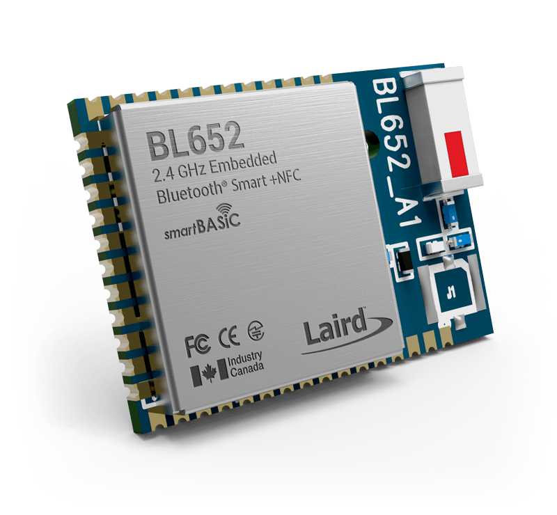 BL652 Series - Bluetooth v5 + NFC | Laird Connectivity