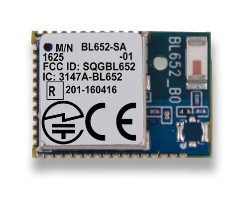 Bl652 Series Bluetooth V5 Nfc Module Laird Connectivity