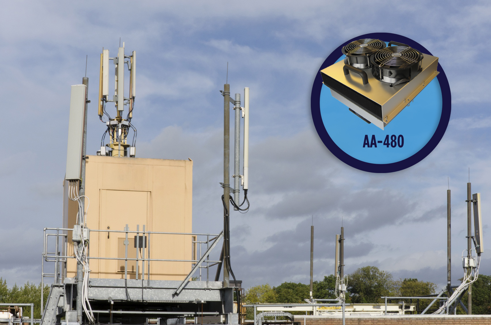 Laird's New AA-480 Cooler Improves Reliability of Cellular Coverage While Reducing Installation and Maintenance Costs