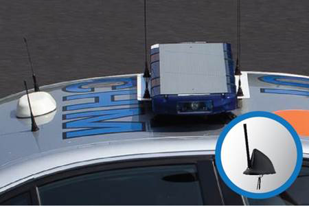 Laird's Phantom Fin Multiband Antenna Enables Multiple On-Board Technologies for Mobile Workforces