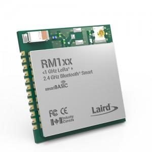Laird RM1xx Combines LoRa & BLE- Enabling EIoT for Miles