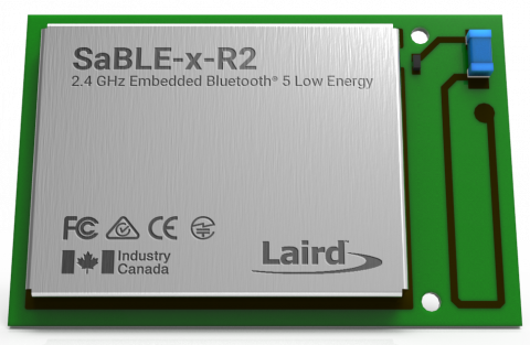 Optimized Bluetooth low energy Module from Laird Simplifies Bluetooth 5 Upgrade and Speeds Time to Market