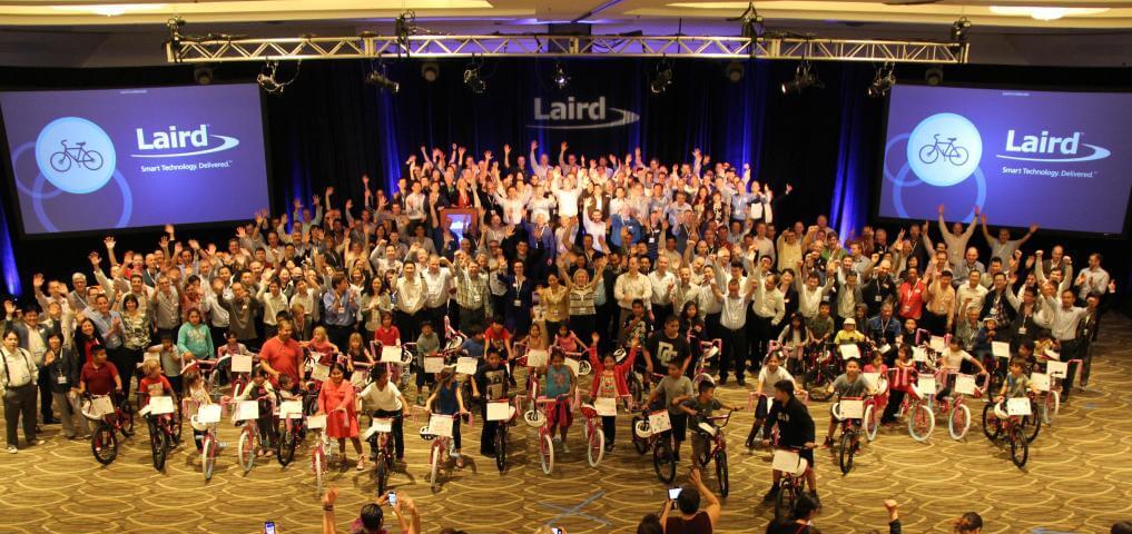 Laird Helps Underprivileged Children Dreams Come True