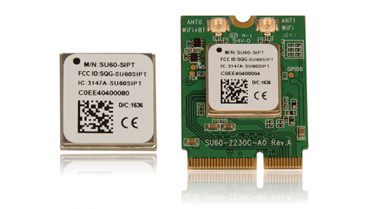 New 802.11ac Wi-Fi + Bluetooth 5 Module Provides Unmatched Connectivity and Performance in Challenging Wireless Environments