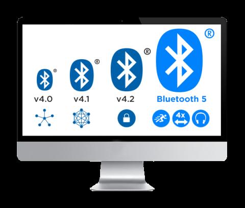 Bluetooth Evolution Graphic