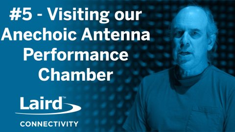 Visiting our Anechoic Antenna Performance Chamber