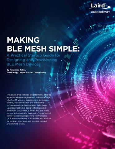 Making BLE Mesh Simple