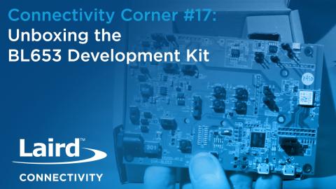 Unboxing the BL653 Development Kit