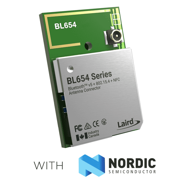 BL654 with Nordic Logo