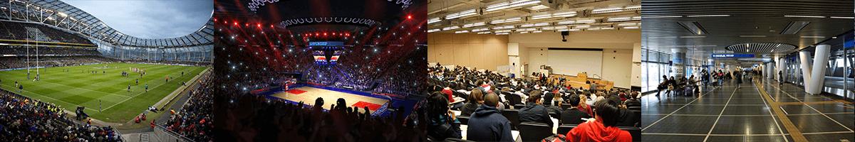 large venues