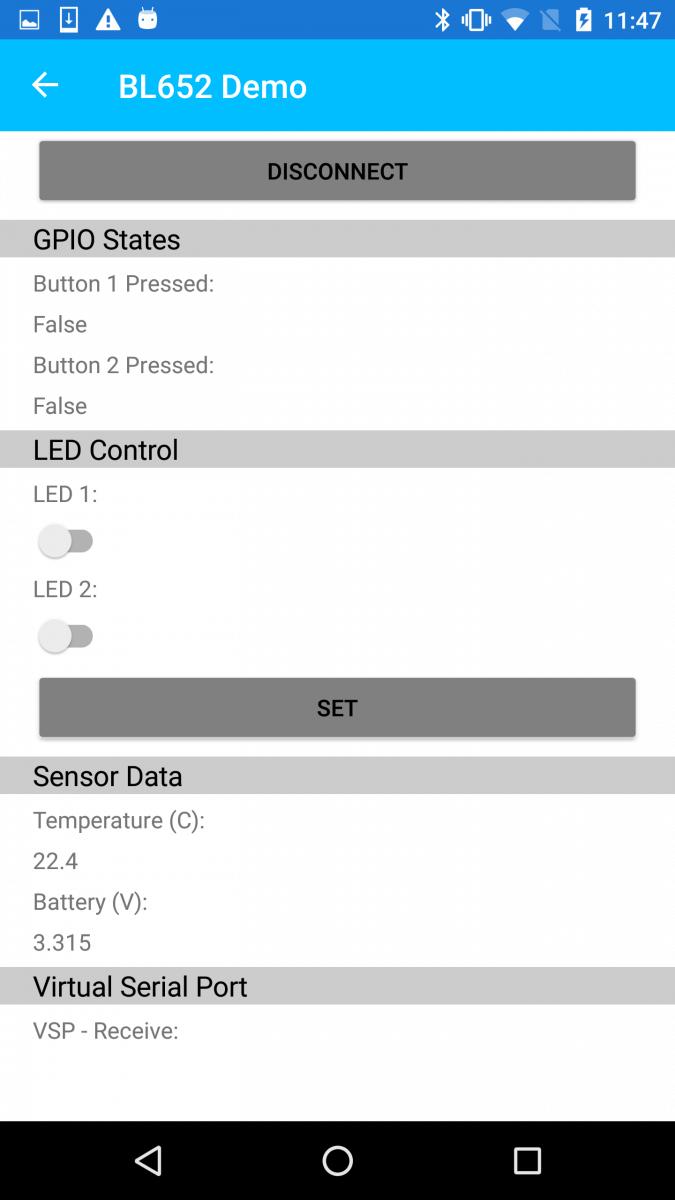 demo information