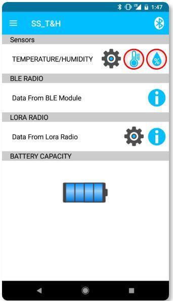 Sentrius Sensor App Step 3.1 - Read Data
