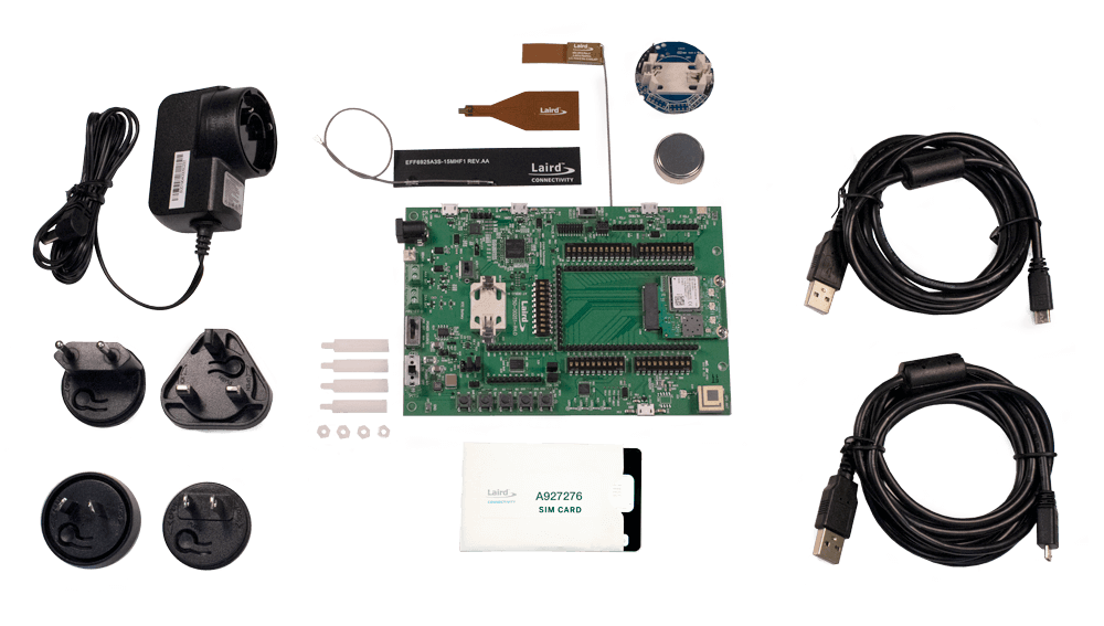 Pinnacle 100 Development Kit Contents - 450-00011