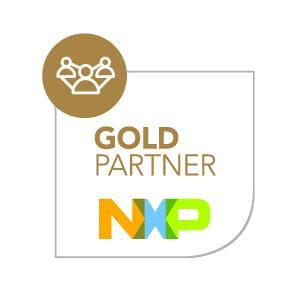NXP Gold Partner badge
