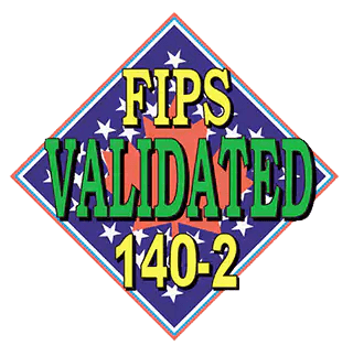 FIPS Validated - 140-2 - Official Logo