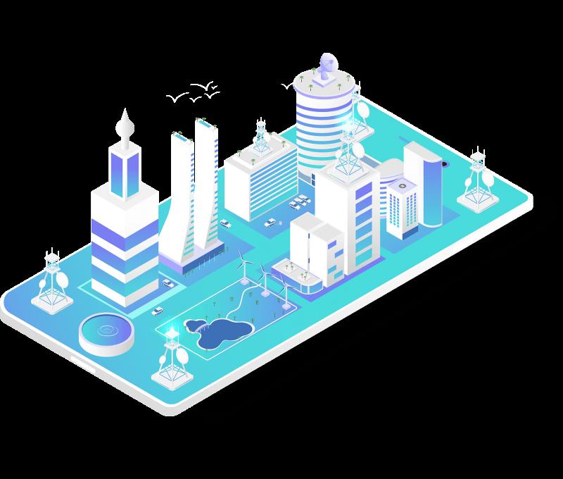 5G Antenna Smart City