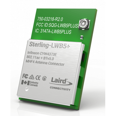 Sterling-LWB5+ with MHF4 Connector (SMT)