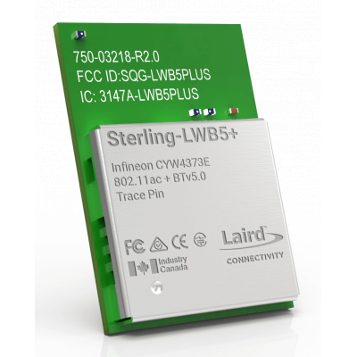 Sterling-LWB5+ with Antenna Trace Pin (SMT)