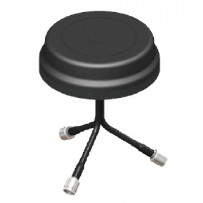 3-port WiFi antenna - Black