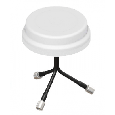 3-port WiFi antenna - White