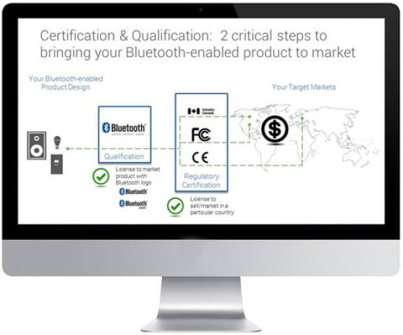 Certification and Qualification Requirments for your Bluetooth Enabled Product