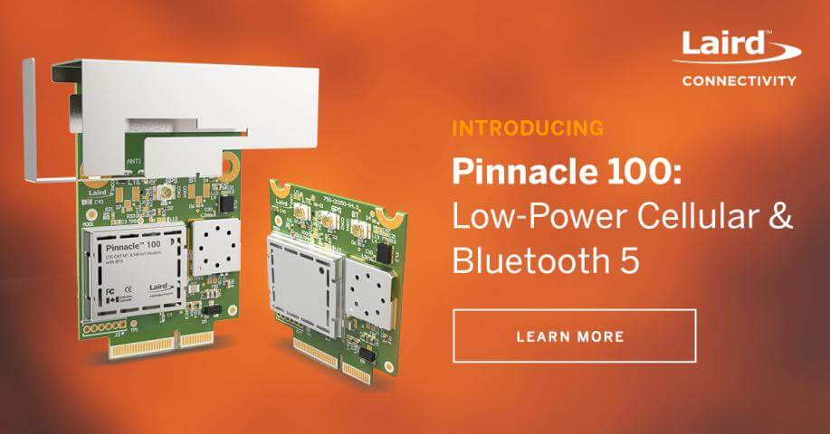 Pinnacle 100 cellular modem