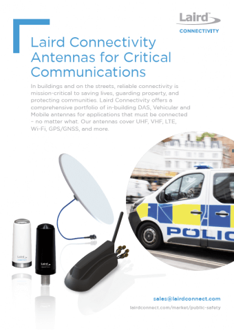 Antennas For Critical Communications