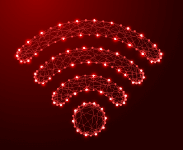 Wireless Signal - Red