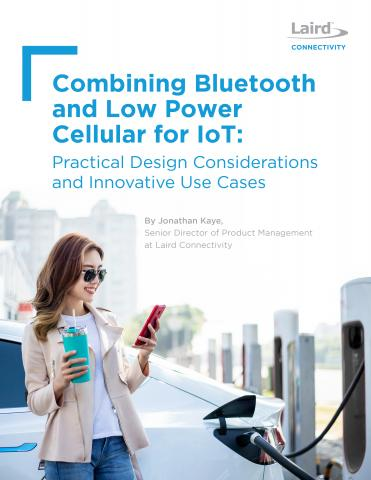 Combining Bluetooth and Low Power Cellular for IoT