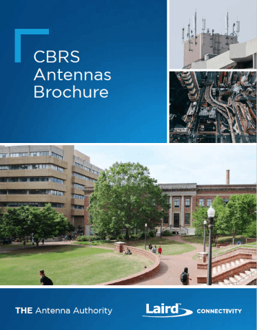 CBRS Antennas Brochure - Cover