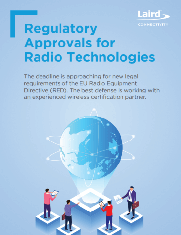 Regulatory Approvals for Radio Technologies - Cover