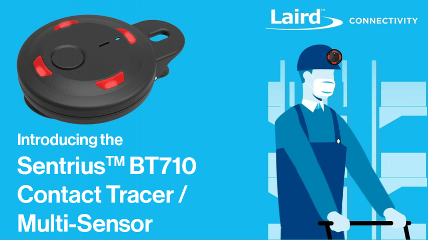 BT710 Contact Tracer and Sensor Video