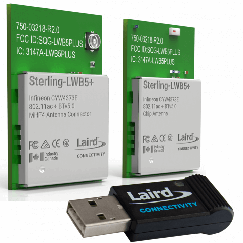 LWB5 Plus Modules and USB Adapter