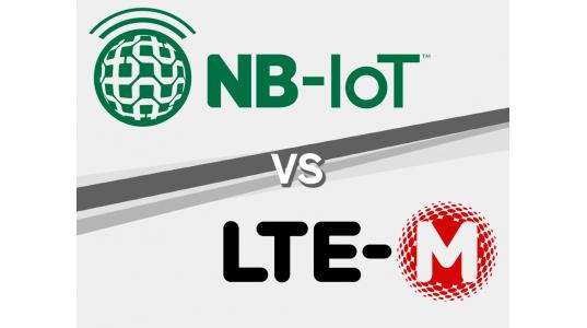 LTE-M vs NB-IOT-logos