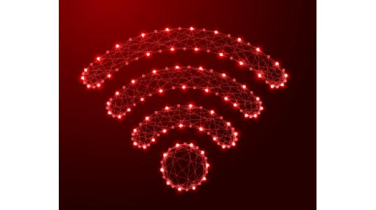 Wireless Signal - Red