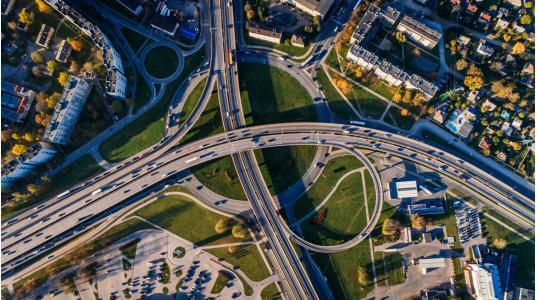 Aerial View - Medium
