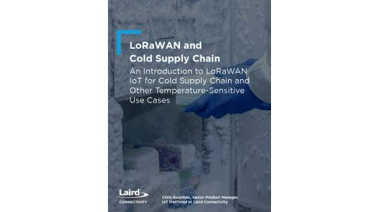 LoRaWAN and the Cold Supply Chain - Cover